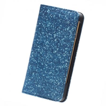 スクモレザー(sukumo leather)藍染の牛革・本革のiPhoneケース