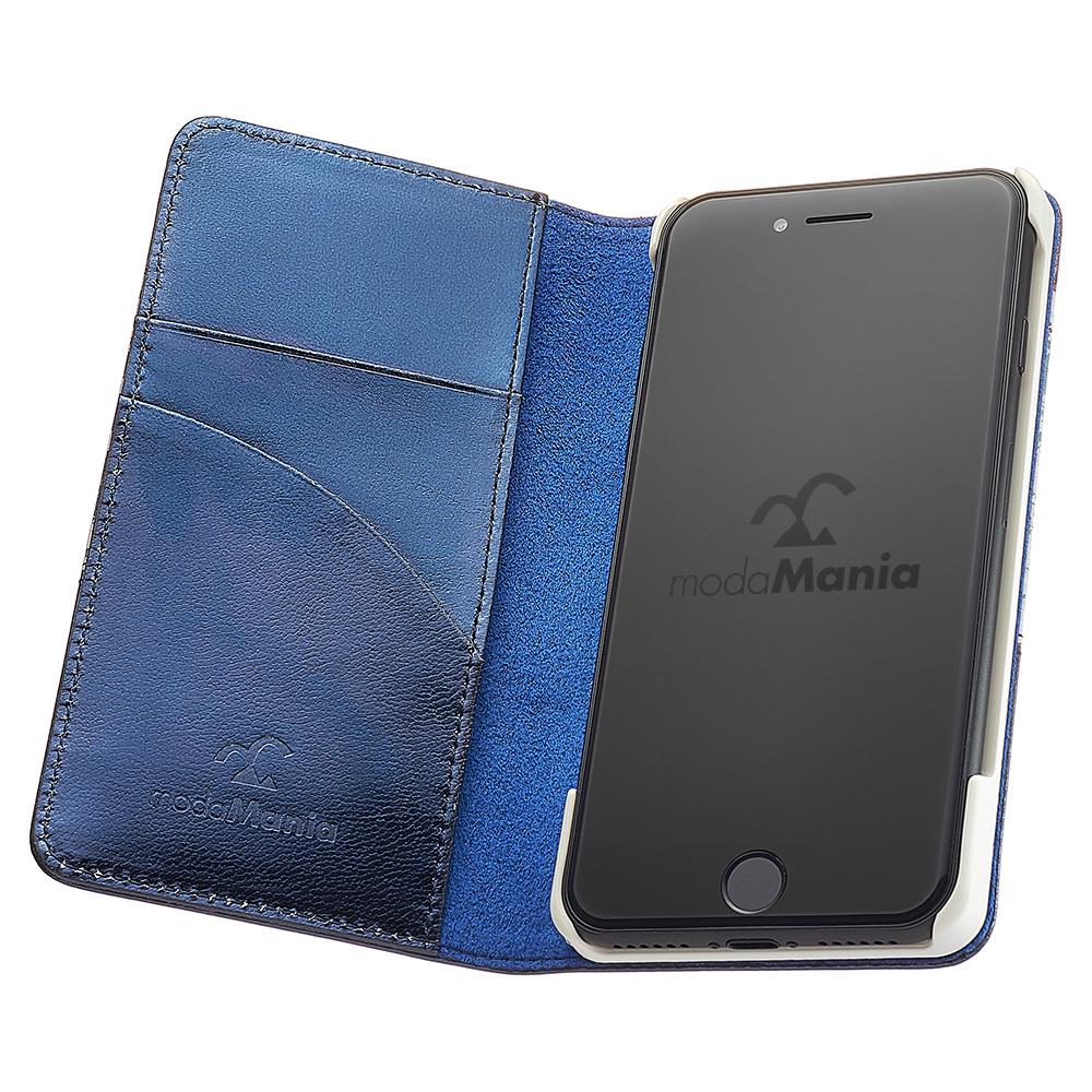 iPhone7/iPhone7plus/対応のおすすめブランドアイフォン手帳型ケース(カバー)『モーダマニア(modaMania):スプリングシー』のご紹介