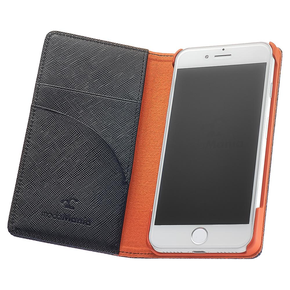 手帳型iPhoneケースブランド「modaMania(モーダマニア)」がおすすめする、メンズ向け本革iPhone(アイフォン)ケース。ビジネスシーンでも使いやすい手帳型ケースをまとめてみました。【ルクス iPhone7 手帳型ケース】