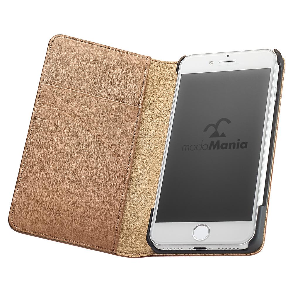 iPhone7/iPhone7plus/対応のおすすめブランド本革アイフォン手帳型ケース(カバー)でおしゃれな『モーダマニア(modaMania)ロトス iPhone7 手帳型ケース』のご紹介