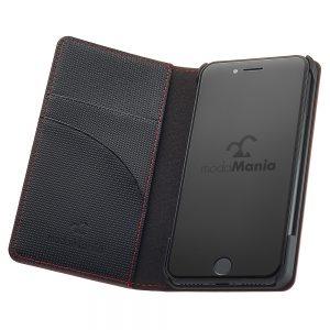 手帳型iPhoneケースブランド「modaMania(モーダマニア)」がおすすめする、メンズ向け本革iPhone(アイフォン)ケース。ビジネスシーンでも使いやすい手帳型ケースをまとめてみました。【ナイトトリップ iPhone7 手帳型ケース】