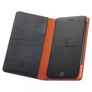 手帳型iPhoneケースブランド「modaMania(モーダマニア)」がおすすめする、メンズ向け本革iPhone(アイフォン)ケース。ビジネスシーンでも使いやすい手帳型ケースをまとめてみました。【ターミネーター iPhone7 手帳型ケース】