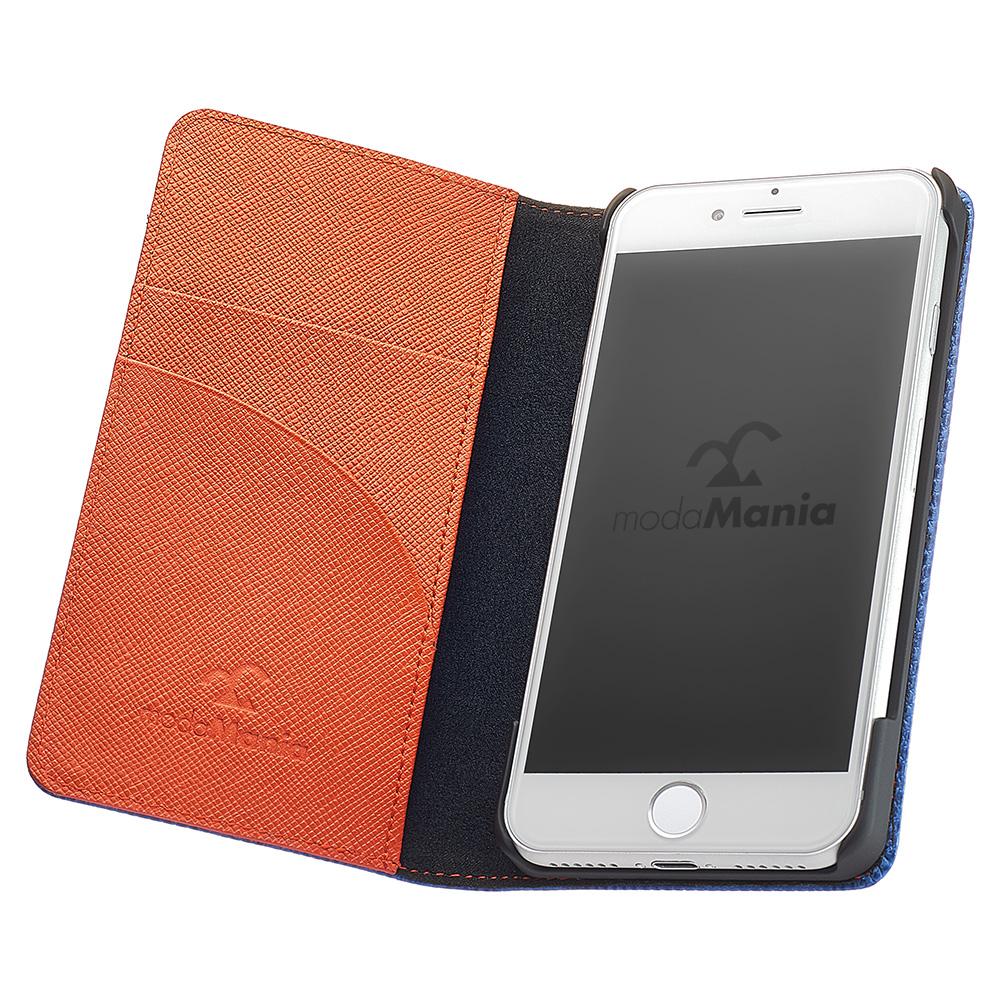 iPhone7plus対応のおすすめブランド本革アイフォン手帳型ケース(カバー)でおしゃれな『モーダマニア(modaMania):チェーロ iPhone7』のご紹介