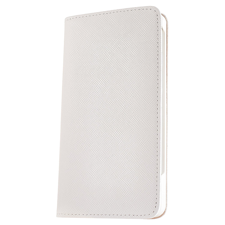 iPhone7・iPhone7Plus用手帳型ケース『ポーラスター』白く清潔感と上品さを持ったおしゃれなiPhone(アイフォン)ケースです