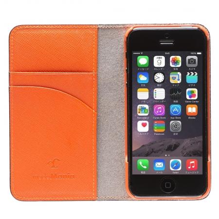 iPhone SE/5s/5対応のおすすめブランドアイフォン手帳型ケース(カバー)『ブライドル』のご紹介