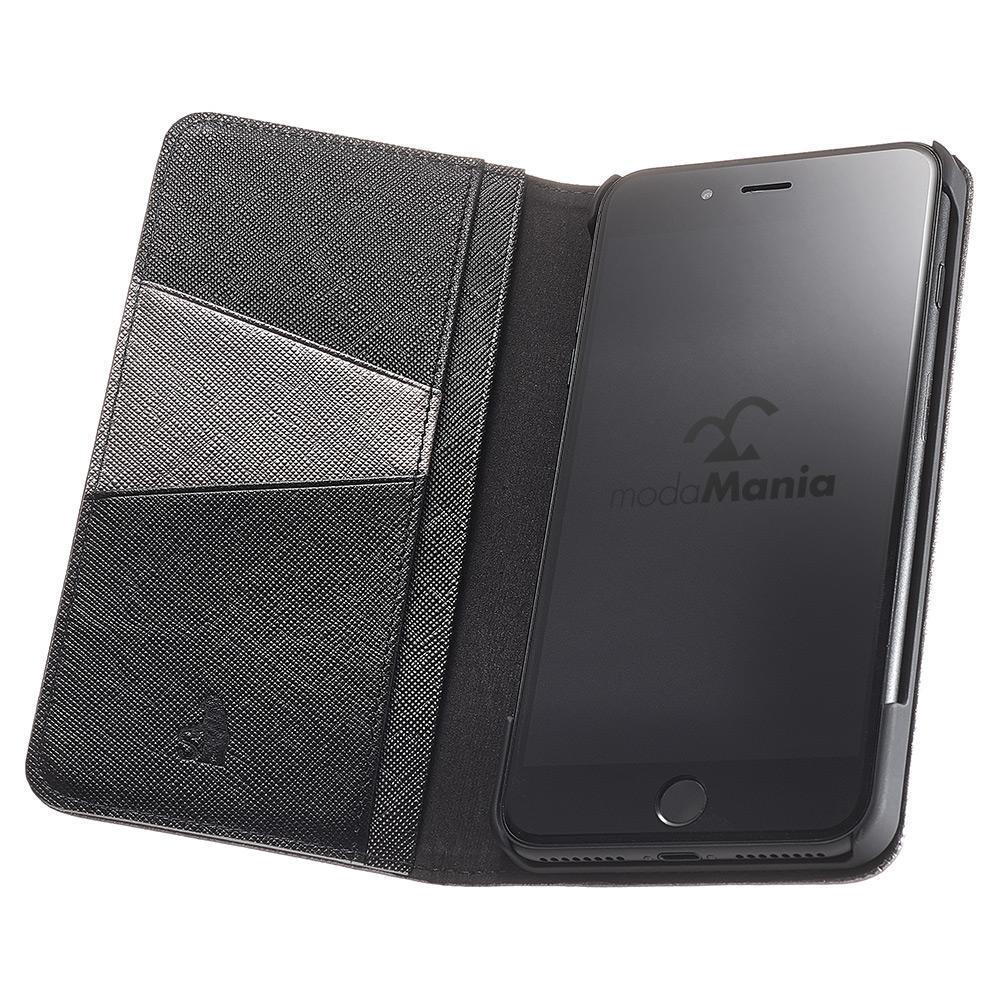 iPhone7 Plus対応のおすすめブランドアイフォン手帳型ケース(カバー)『シルバーロック』のご紹介