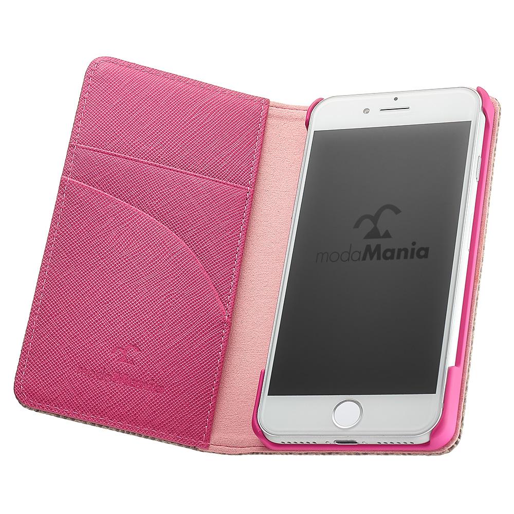 iPhone8対応のおすすめブランドアイフォン手帳型ケース(カバー)『モーダマニア(modaMania):ルクス』のご紹介