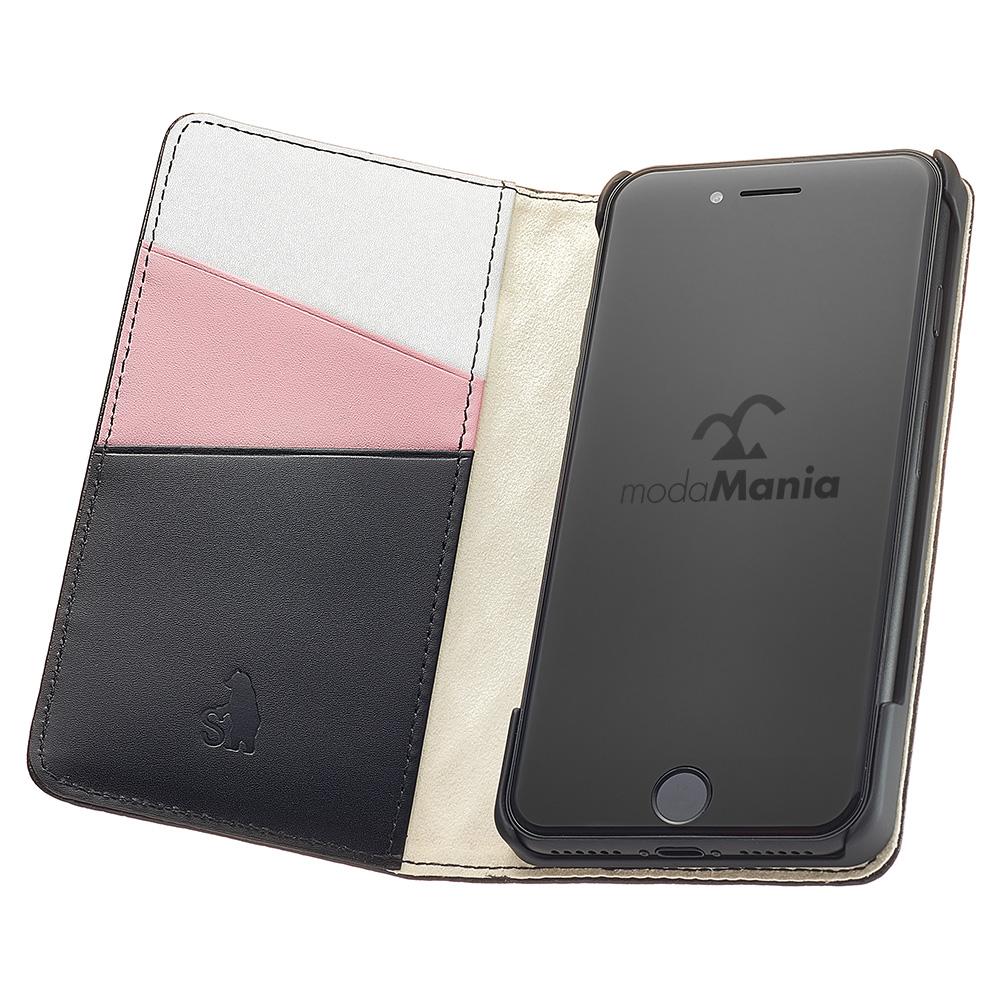 iPhone8対応のおすすめブランドアイフォン手帳型ケース(カバー)『モーダマニア(modaMania):セナ』のご紹介