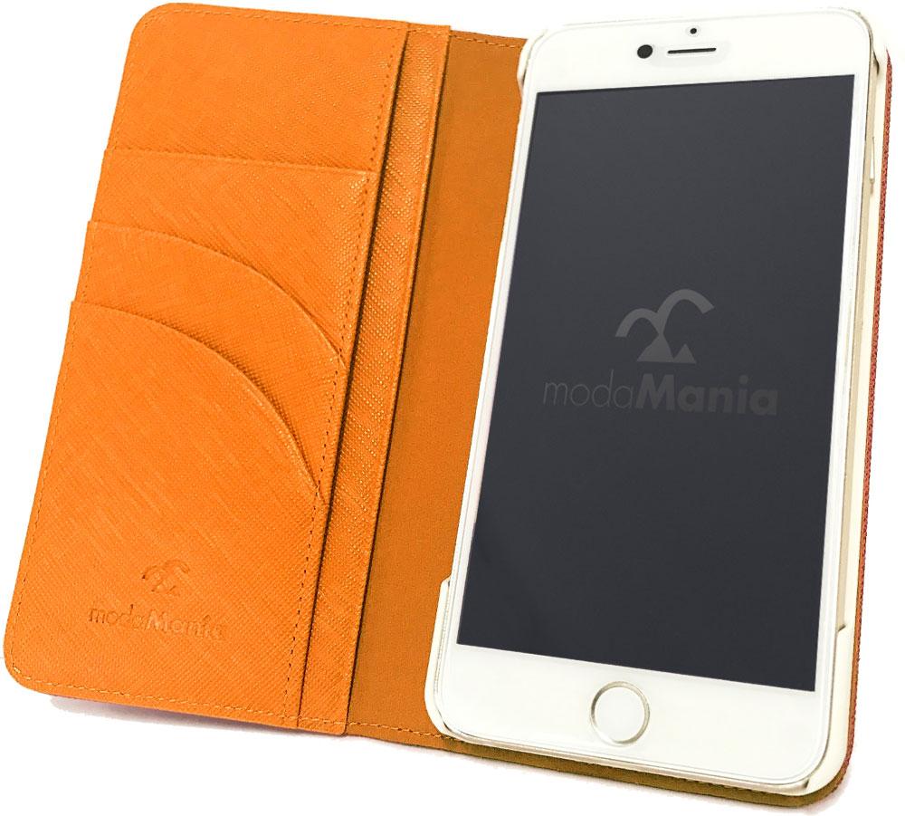 iPhone8 Plus対応のおすすめブランドアイフォン手帳型ケース(カバー)『シャレード』のご紹介
