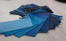 """日本の伝統や文化から生まれた""""藍染革""""「スクモレザー」のこだわり。"""
